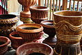 Mexican pottery at Anita's in Bothell, WA 04.jpg
