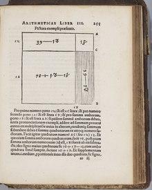Arithmetica Integra di Stifel