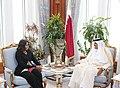 Michelle Obama meets with HH Sheikh Tamim Bin Hamad Al Thani (1).jpg