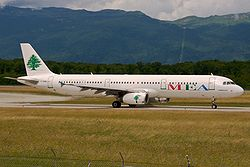 Middle East Airlines A321 F-ORMJ @ Geneva International Airport.jpg