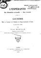 Mieille — L'espéranto, Sa Situation actuelle, Son Avenir, 1903.pdf