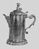 Mietelski Silver jug with a siren.jpg