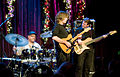 Mike Stern, Dennis Chambers, Tom Kennedy, and Randy Brecker at Jazz Alley (2), 2010-12-08.jpg
