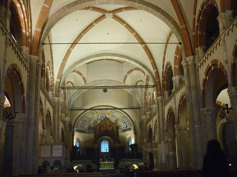 Immagine:Milano, sant'ambrogio, interno.JPG