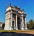 Milano Arco della Pace von Süden 2.jpg