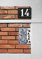 Milano formella INA-Casa via Passo Sella 14.JPG