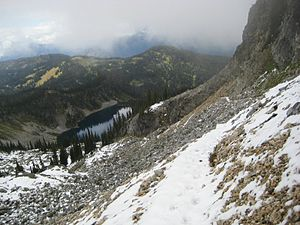 Mount Revelstoke National Park - Image: Miller Lake Mt Revelstoke