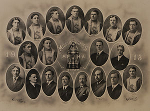 Maritime Professional Hockey League - The 1913 Sydney Millionaires Professional Ice Hockey Team, Maritime Professional Hockey Association champs, Stanley Cup Challengers.