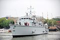 Mine Countermeasures Vessel HMS Cattistock Sails into Bristol (6103692086).jpg