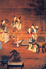 The Ming Imperial Court, by an unknown artist, c. 1580 AD.