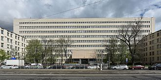 Ministry of National Defence (Poland) - Building of the Ministry of Defence on Niepodległości Avenue in Warsaw