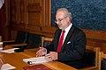 Ministru prezidents Valdis Dombrovskis tiekas ar Eiropas Kopienu tiesas tiesnesi Egilu Levitu (7995389491).jpg