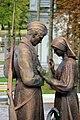 Minsk Kriegsmuseum Statue.JPG