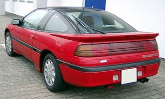 Mitsubishi Eclipse - Pre-facelift Mitsubishi Eclipse rear