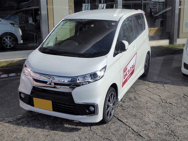 File:Mitsubishi eK CUSTOM T【Safety Package】 (DBA-B11W) front.JPG