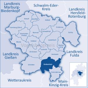 Grebenhain - Image: Mittelhessen Vogelsberg Gre