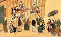 Miyagawa Chōki (17th century) Harimise no zu.jpg