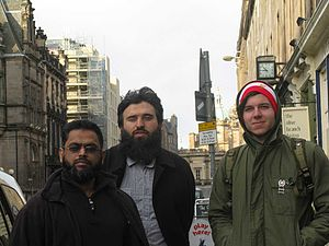 Scotland Against Criminalising Communities - Moazzam Begg, Omar Deghayes, Chris Arendt, Two Sides One Story in Edinburgh 2009
