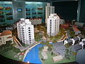 Model of buildings - Shanghai Urban Planning Exhibition Center.JPG