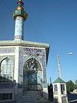 Mohammad Rasul al-Allah Mosque - Ghal'e Now Zone -Nishapur Tiling 01.JPG