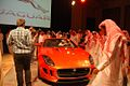 Mohammed Yousuf Naghi Motors unveils Jaguar F-TYPE in Jeddah, KSA (9005511066).jpg