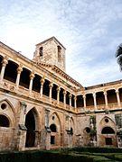Monasterio de Santa María de Huerta - Claustro gótico - Torre.jpg