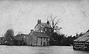 Monmouth Floods Wonastow Road 1929