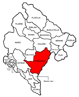 Municipality in Montenegro