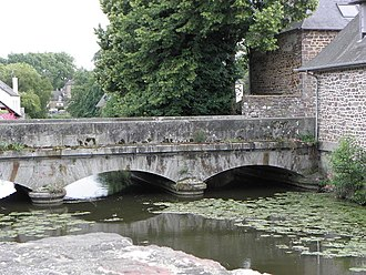 Meu - The river Meu at Montfort-sur-Meu