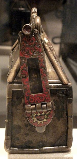 Monymusk Reliquary - Side view