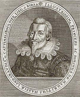 Moritz, Hessen-Kassel, Landgraf, 1572-1632