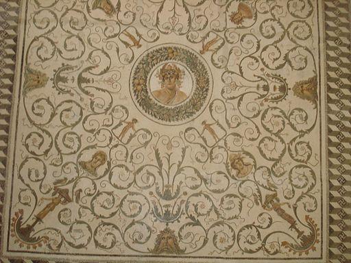 Mosaique El Jem génie