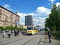 Moscow tram Tatra T7B5SU 3323 20040528 1 (12174286783).jpg