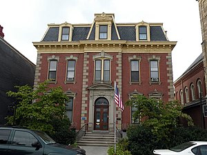 Troy Hill (Pittsburgh) - Image: Most Holy Nameof Jesus Rectory