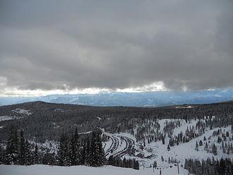 Mount Shasta Ski Park - Image: Mount Shasta Ski Park, front side