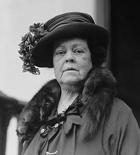 Alva Belmont American suffragist