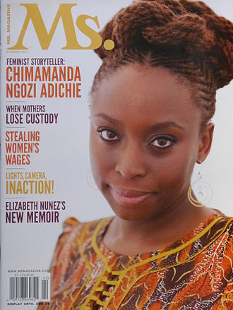 Chimamanda Ngozi Adichie - Adichie on the cover of Ms. magazine in 2014