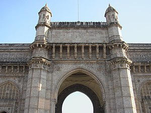 Deutsch: Gateway of India in Mumbai in Maharas...