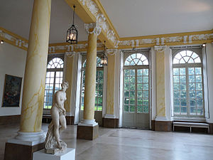 Museum of Fine Arts of Nancy - Peristyle of the old pavilion