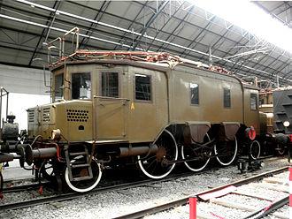 Three-phase AC railway electrification - FS Class E330 (Italy 1914-63)