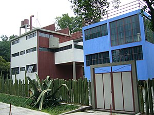 Álvaro Obregón, Mexico City - Diego Rivera and Frida Kahlo museum studio.