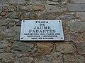 Museu Picasso - plaça Sabartes.JPG