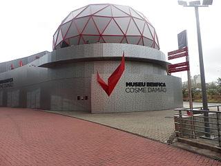 Sports museum in Estádio da Luz, Lisbon