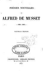 Alfred de Musset: Poésies nouvelles (1836-1852)