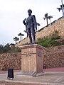 Mustafa Ertuğrul Aker statue, Antalya.jpg