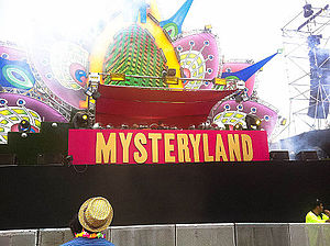 Mysteryland - Image: Mysteryland Main Stage