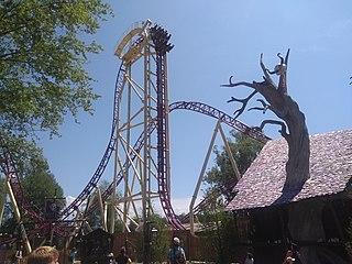 Mystic (roller coaster) Steel roller coaster at Walibi Rhône-Alpes