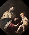 Mystical marriage of Saint Catherine-Simone Pignoni-MBA Lyon A2740-IMG 0365.jpg