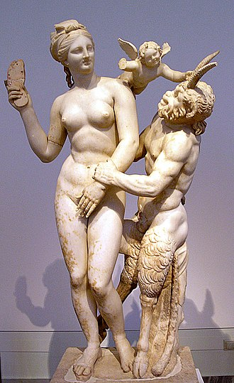 Афродита Эрот и Пан