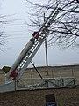 NASA Wallops Flight Facility Visitor Center Nike-Cajun sounding rocket DSCF1014.jpg